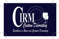 Cirm Logo on Blue Background